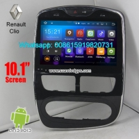 Renault Clio auto Car radio GPS android wifi navigation camera 10.1inch