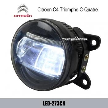 Volks love citroen c4 triomphe c quatre front fog lamp for Citroen c1 led verlichting